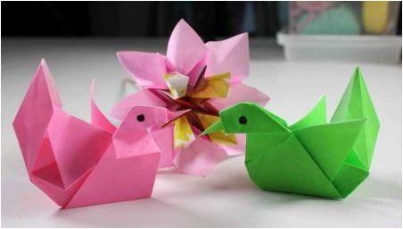 Създаване на оригами от хартия с A4