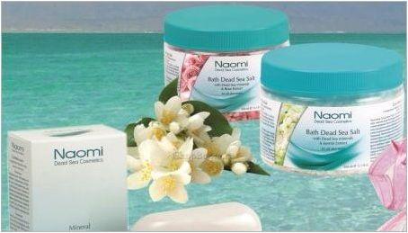За козметиката на Мъртво море Naomi